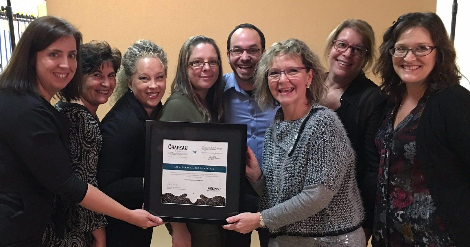 Lauréat 2016 – Service à la communauté